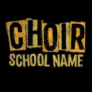 Choir Stencil