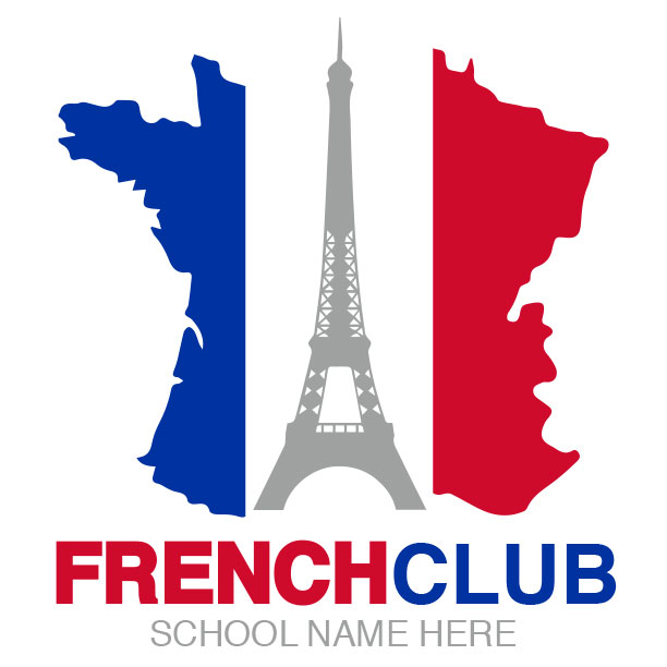 French Club Logo Design